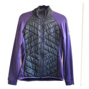 Smartwool Jacket Black Purple Medium